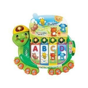 Learn the Alphabet with the VTech Touch and Teach Turtle