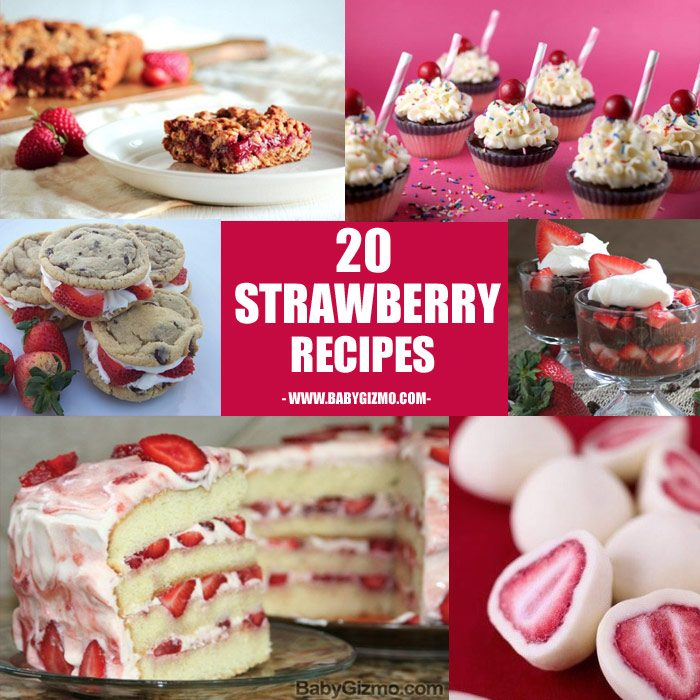 Twenty Summer Strawberry Recipes