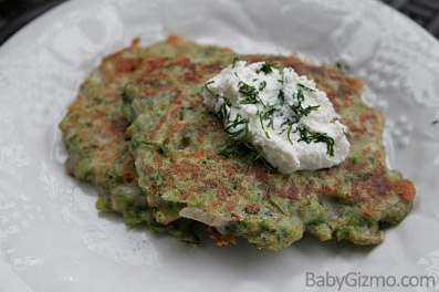 broccolipancakes Food For The Whole Family: Broccoli and Cheddar Pancakes