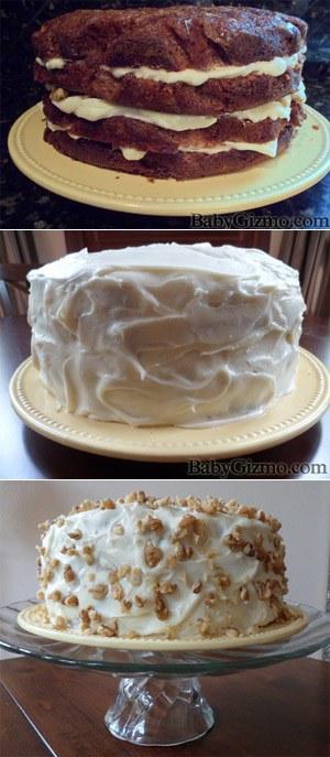 Baby Gizmo Carrot Cake