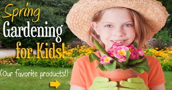 Spring gardening for kids