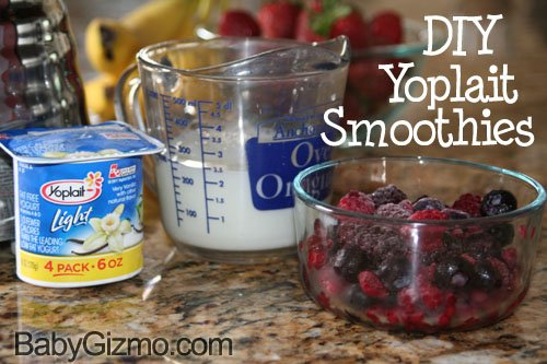 smoothie6 DIY Yoplait Smoothies