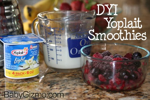 DIY Yoplait Smoothies