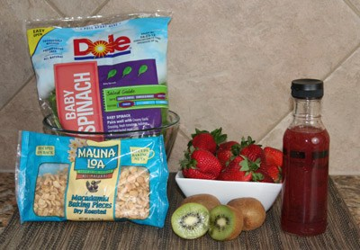 strawberry salad ingredients