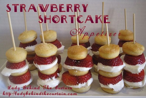 Srawberry Shortcake Kabobs