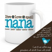 zoeys nana coffee mug  01407 thumb Personalized T Shirts and Gifts for the Whole Family!