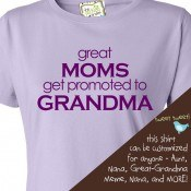 zoeys new great moms color  51955 thumb Personalized T Shirts and Gifts for the Whole Family!