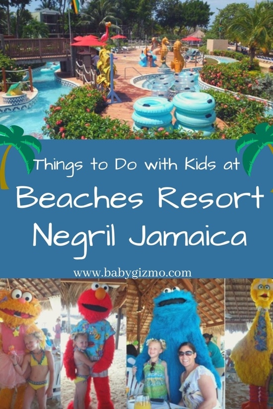 family at beaches resort