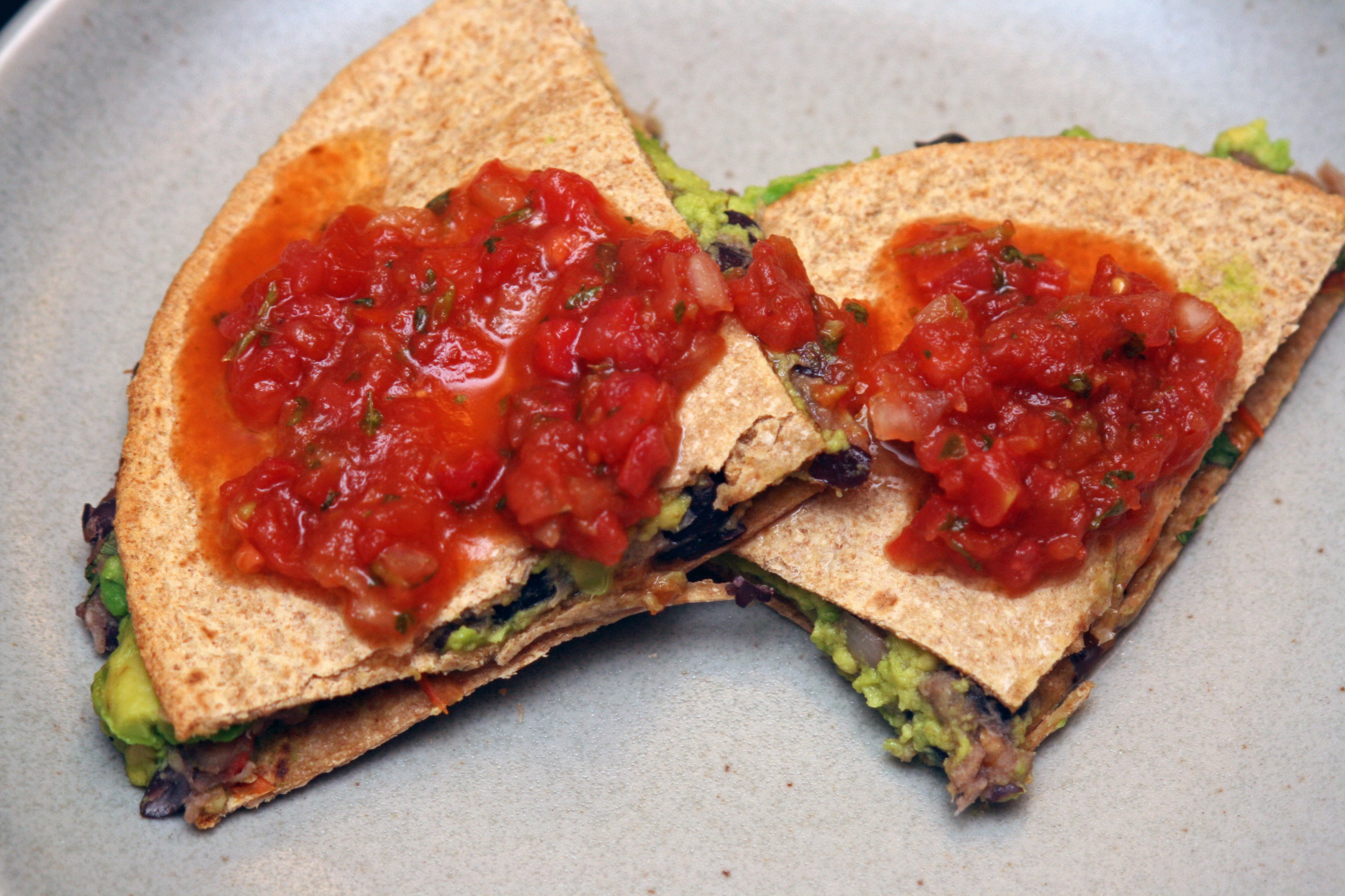 Outsmarting Food Quirks: Black Bean and Banana Quesadillas
