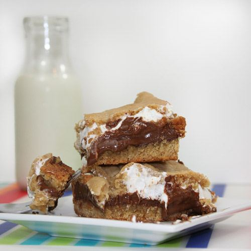 PBSmores Peanut Butter SMores Bars