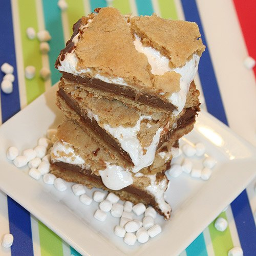PBSmores2 Peanut Butter SMores Bars