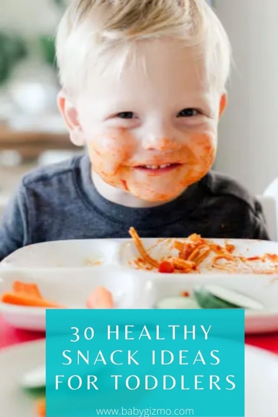 30 Healthy Snack Ideas for Toddlers