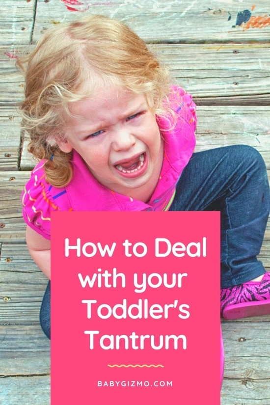 How to Deal With Your Toddler's Tantrums