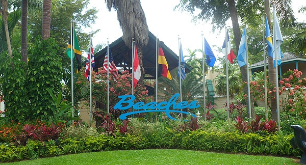 beaches entrance Baby Gizmo Travel Review: Beaches Resort in Negril Jamaica