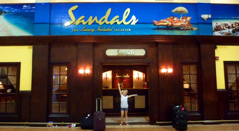 sandalswelcome Baby Gizmo Travel Review: Beaches Resort in Negril Jamaica