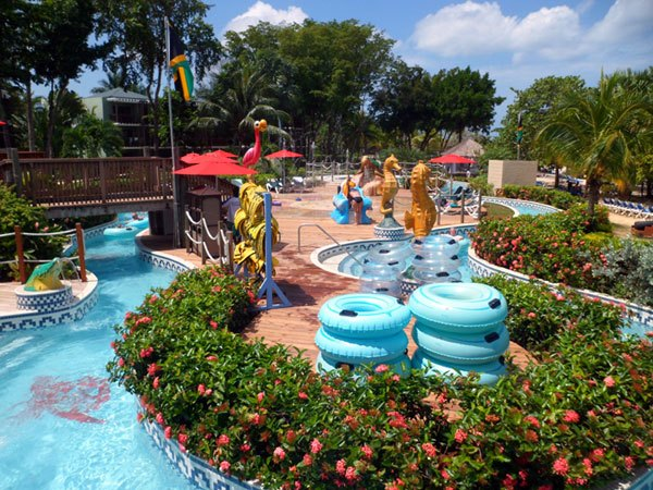 waterpark Baby Gizmo Travel Review: Beaches Resort in Negril Jamaica