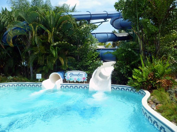waterslides Baby Gizmo Travel Review: Beaches Resort in Negril Jamaica