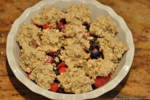 1 Sugar Cookie Summer Berry Crisp