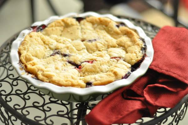 Sugar Cookie Summer Berry Crisp