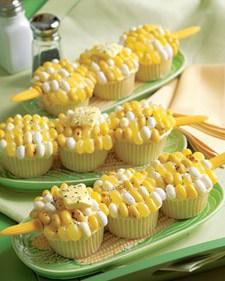 3148 corn cupcake l1 7 Creative Ideas for Fourth of July Cupcakes