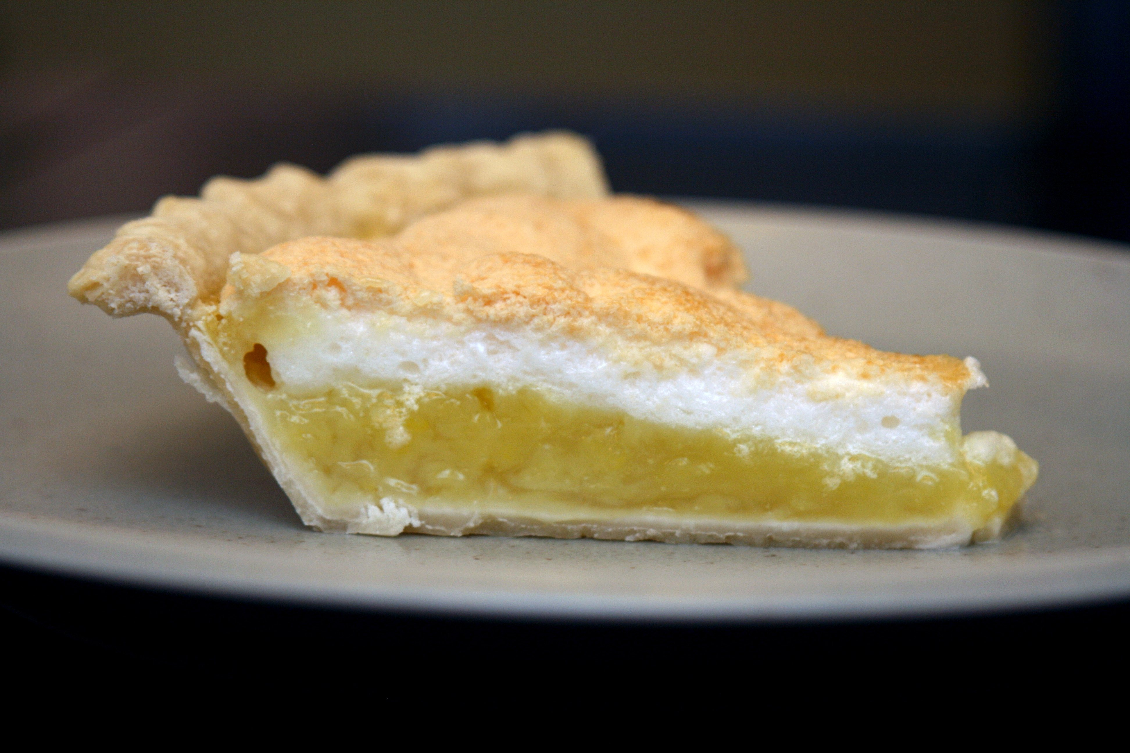 Kitchen Mishaps, Father's Day and Lemon Meringue Pie