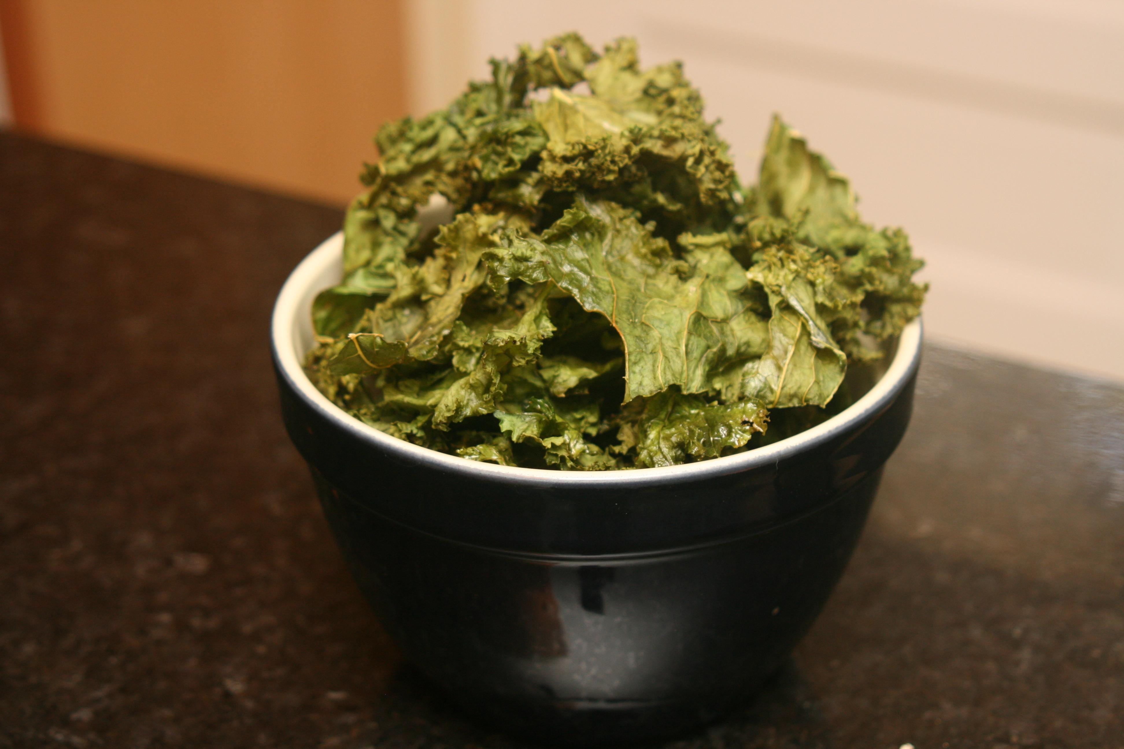 Kale chips: You can't eat just one