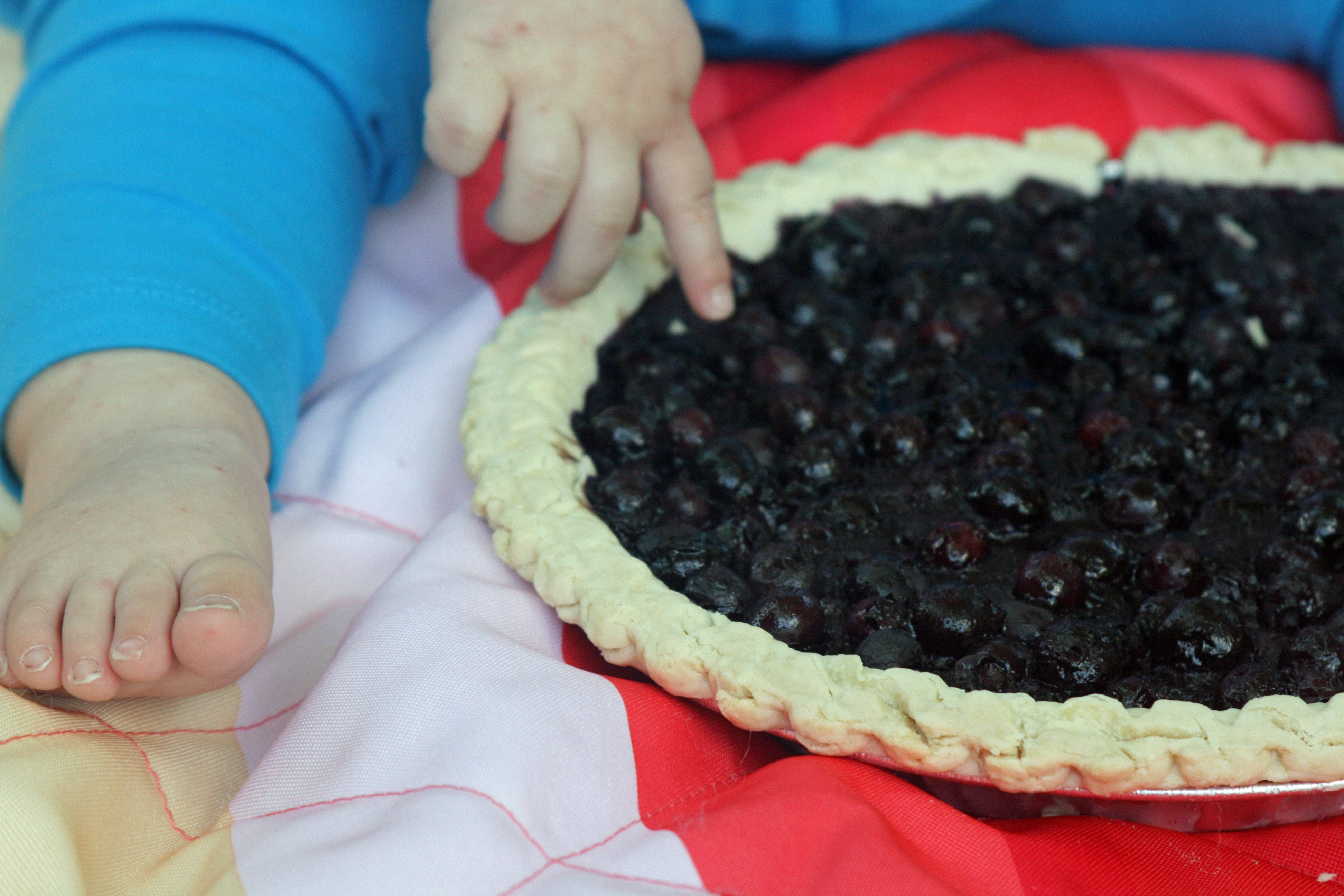First birthday smash pie