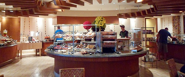 Marco Island Marriot tropiks buffet