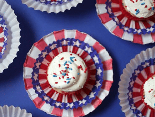7 Creative Ideas for Fourth of July Cupcakes