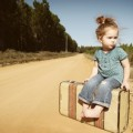 LIttle Girl Traveling