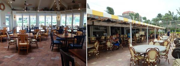 Marco Island Marriot quinns outdoor restaurant