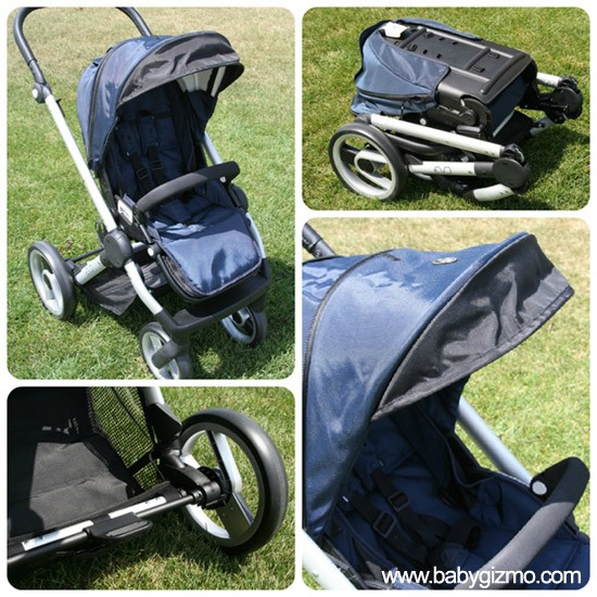 EvoCollage blog Baby Gizmo Spotlight Video Review: Mutsy Evo Stroller