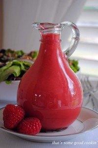 Raspberry Vinaigrette 110 copy 200x300 8 Summer Inspired Raspberry Recipes