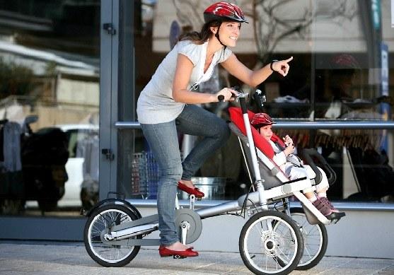 TagaBike It's a Bike, It's a Stroller, It's a Taga!!!