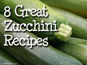 ZucchiniRecipes Eight Great Zucchini Recipes