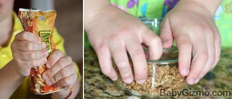 Peanut Butter Granola Roll-ups