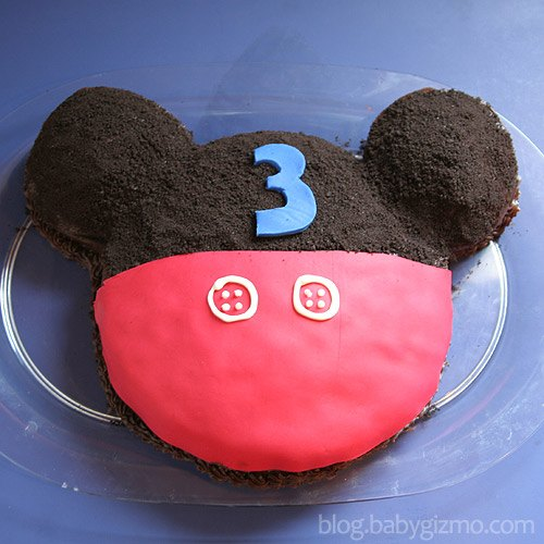 mickeycake2 Happy 3rd Birthday Mickey Mouse Style!