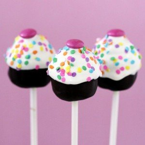 No Bake Cake Pops