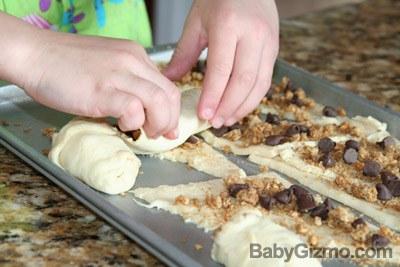 Peanut Butter Granola Roll-Up