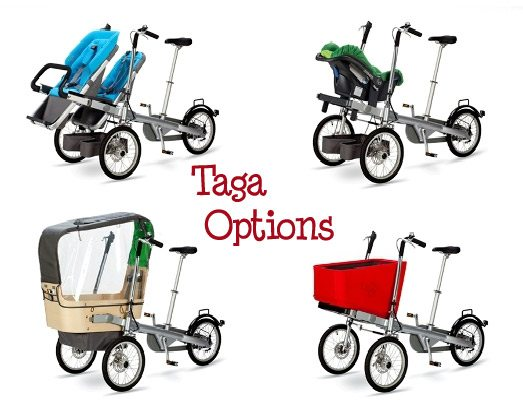 tagabikeoptions It's a Bike, It's a Stroller, It's a Taga!!!