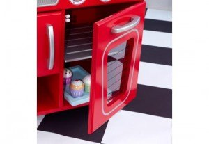 53173 4 300x207 KidKraft Red Retro Kitchen