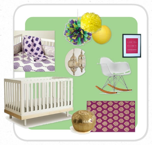 Transforming a Boy's Room into a Baby Girl's Nursery (or Vice Versa)
