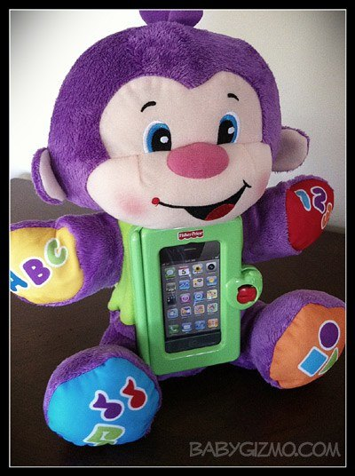 apptivitymonkey Fisher Price Laugh and Learn Apptivity Monkey Video Review