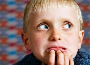 worriedlookingboywide 420x0 300x217 Eight Ways to Help Beat First School Day Nerves