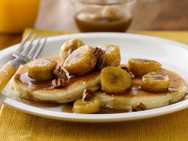 bananafosters pancakes Seven Scrumptious Pancake Recipes for the Weekend