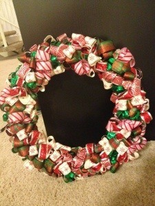 DIY Ribbon Wreath Craft