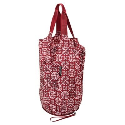 red print tote