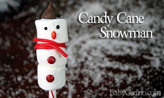 Candycanesnowman Candy Cane Snowman Tutorial (VIDEO)