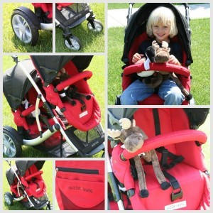 guzziecollage 300x300 Choosing A Tandem over a Side By Side Stroller