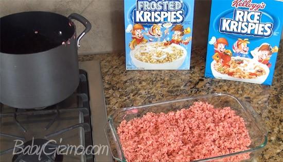krispie treats3 Chocolate Peppermint Rice Krispie Balls